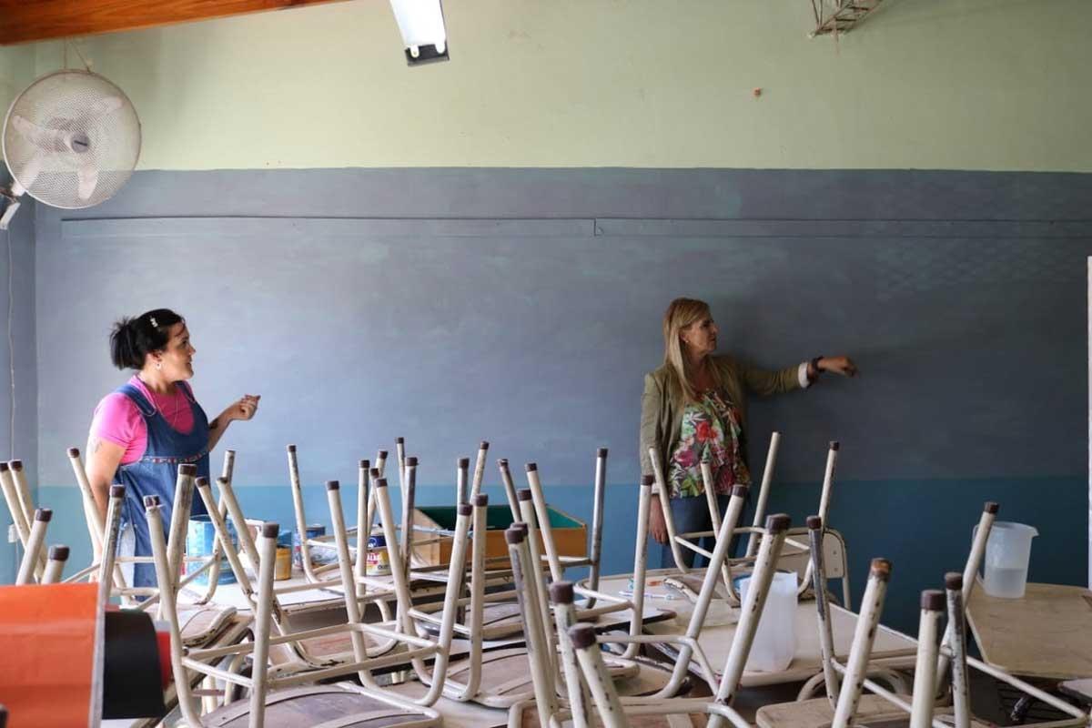 Colaboración para el mantenimiento de las escuelas
